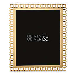 Olivia & Oliver Aubrey 8-Inch x 10-Inch Picture Frame in Gold