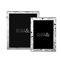 Olivia & Oliver® Harper Silver-Plated Picture Frame