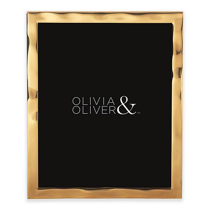 Alternate image 1 for Olivia & Oliver® Harper 8-Inch x 10-Inch Polished Gold Picture Frame
