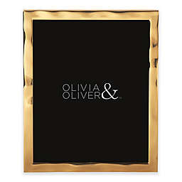 Olivia & Oliver® Harper 8-Inch x 10-Inch Polished Gold Picture Frame