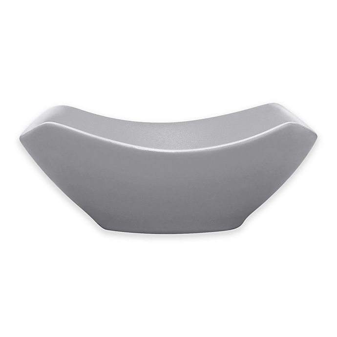 Alternate image 1 for Noritake® Colorwave Medium Square Bowl in Slate
