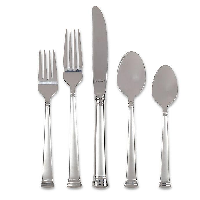 Alternate image 1 for Lenox® Eternal® 20-Piece Frosted Flatware Set (Service for 4)