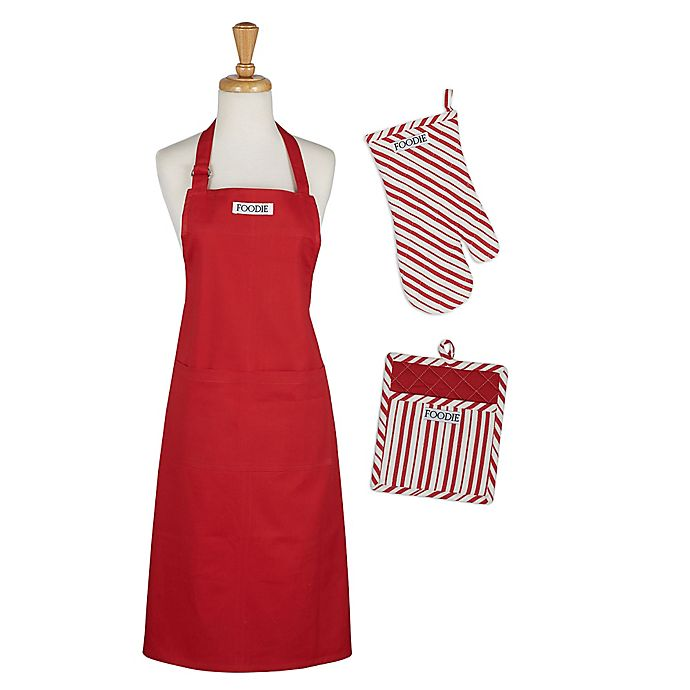 Alternate image 1 for Gourmet 3-Piece Kitchen Linens Set