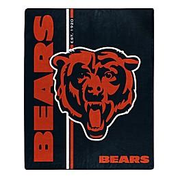 NFL Chicago Bears Royal Plush Raschel Throw