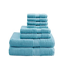 Madison Park Signature 800GSM 100% Cotton 8-Piece Towel Set