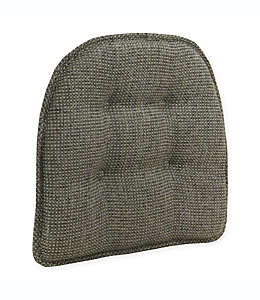 Cojín para silla de poliéster Tufted Grassland® color gris humo