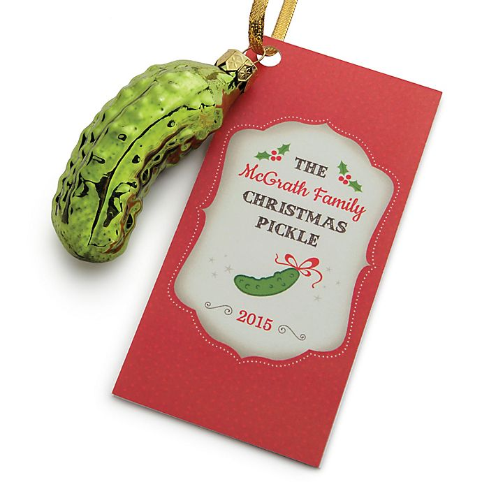 Christmas Pickle Glass Ornament | buybuy BABY