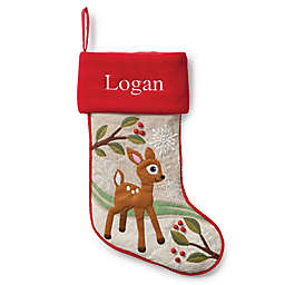 Forest Friends 21-Inch Deer Christmas Stocking