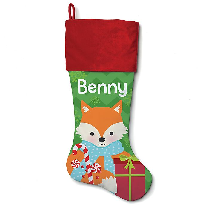 Alternate image 1 for 21-Inch Cotton Fox Stocking