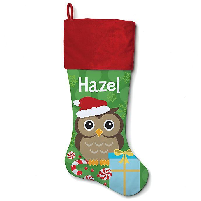 Alternate image 1 for 21-Inch Christmas Owl Stocking