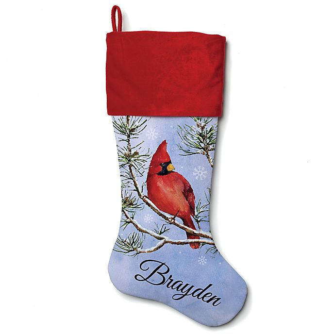 Alternate image 1 for 21-Inch Cotton Cardinal Stocking