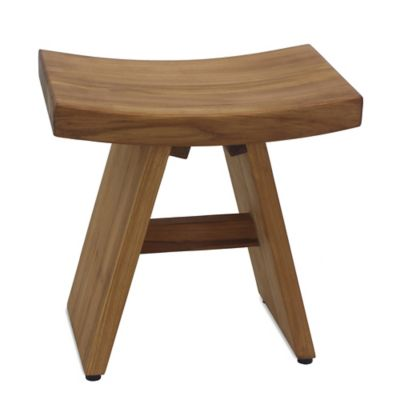 Haven Asia Teak Stool Bed Bath And Beyond Canada