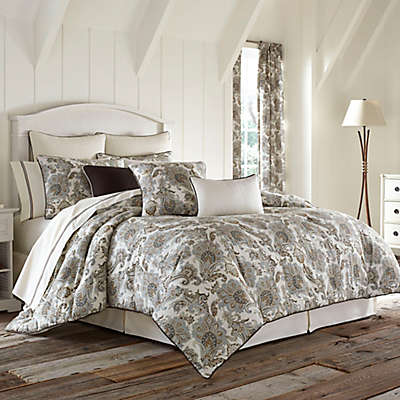 Piper & Wright Pearcley Comforter Set in Ivory/Beige