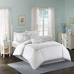 Harbor House™ Cranston 6-Piece Comforter Set in White