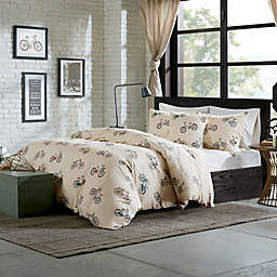 HipStyle Raleigh 4-Piece Comforter Set in Taupe