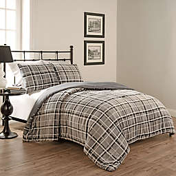 Beauty Rest® Casimir Comforter Set in Smoke