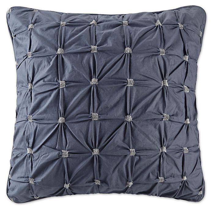 Alternate image 1 for INK+IVY Jane European Pillow Sham in Navy