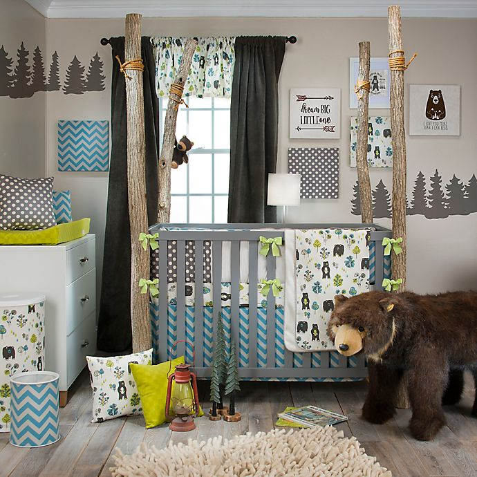 Alternate image 1 for Glenna Jean North Country 4-Piece Crib Bedding Set