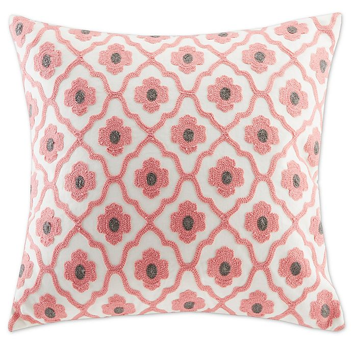 Alternate image 1 for Echo™ Sterling Square Throw Pillow in Beige