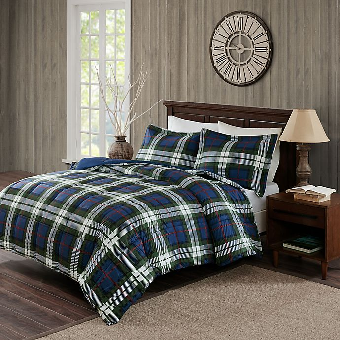 Woolrich 174 Rob Roy Comforter Set In Blue Bed Bath Amp Beyond