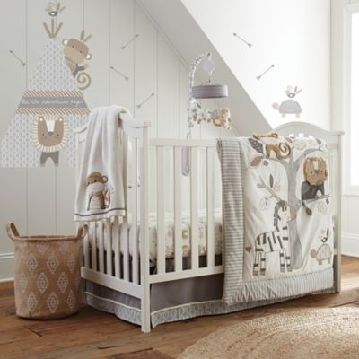 Levtex Baby 174 Kenya 5 Piece Crib Bedding Set In Grey