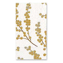 Caspari Berry Branches 15-Count Paper Guest Towels