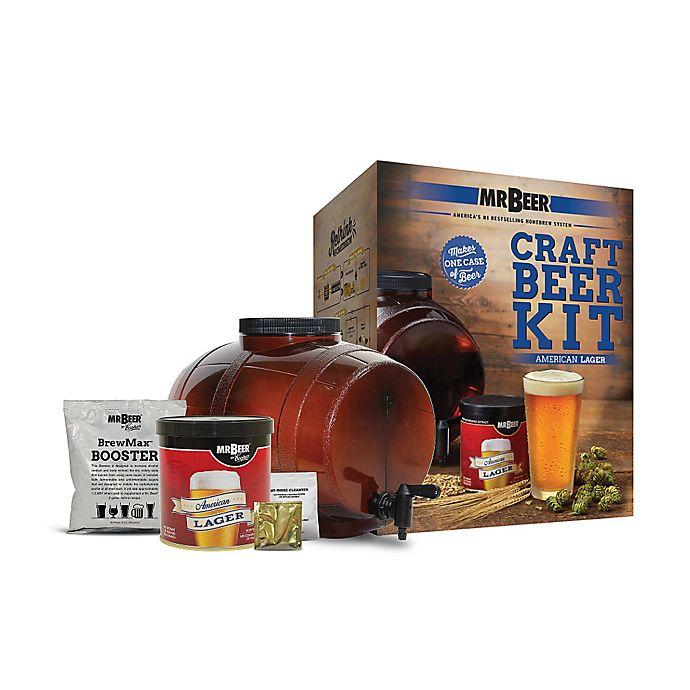Alternate image 1 for Mr. Beer American Lager Beer Kit
