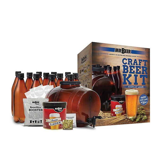 Alternate image 1 for Mr. Beer American Lager Complete Beer Kit