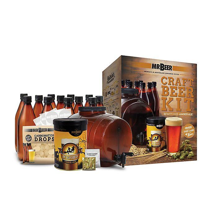 Alternate image 1 for Mr. Beer Bewitched Amber Ale Complete Beer Kit