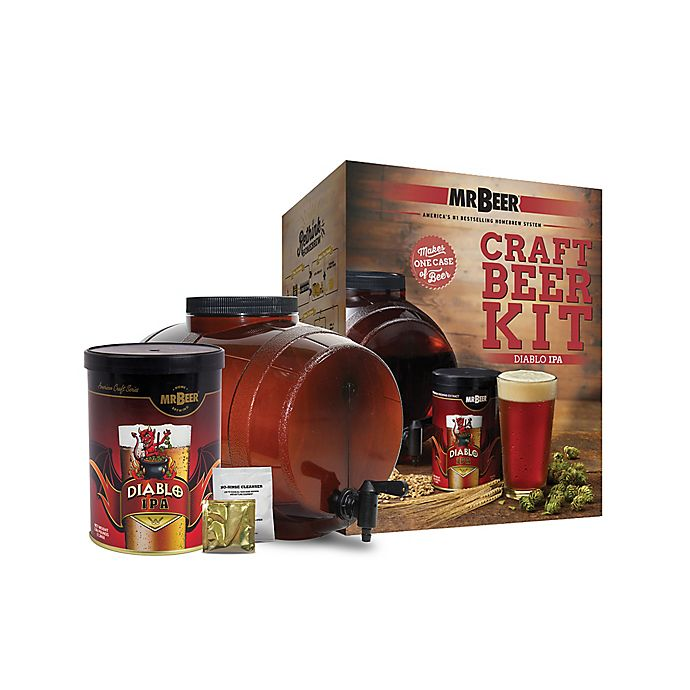 Alternate image 1 for Mr. Beer Diablo IPA Beer Kit