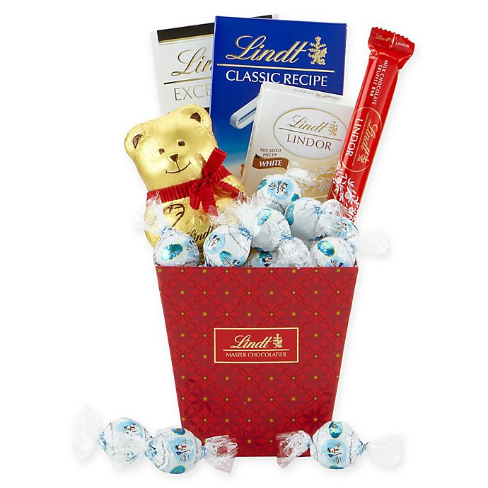 Lindt Lindor Holiday Gift Basket