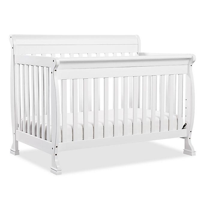 Alternate image 1 for DaVinci Kalani 4-in-1 Convertible Crib in White