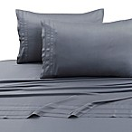 Tribeca Living 300-Thread-Count Rayon Made From Bamboo Full Sheet Set in Steel