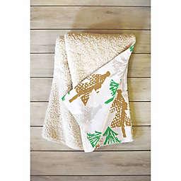 Deny Designs Zoe Wodarz Winter Day 50-Inch x 60-Inch Fleece Throw Blanket