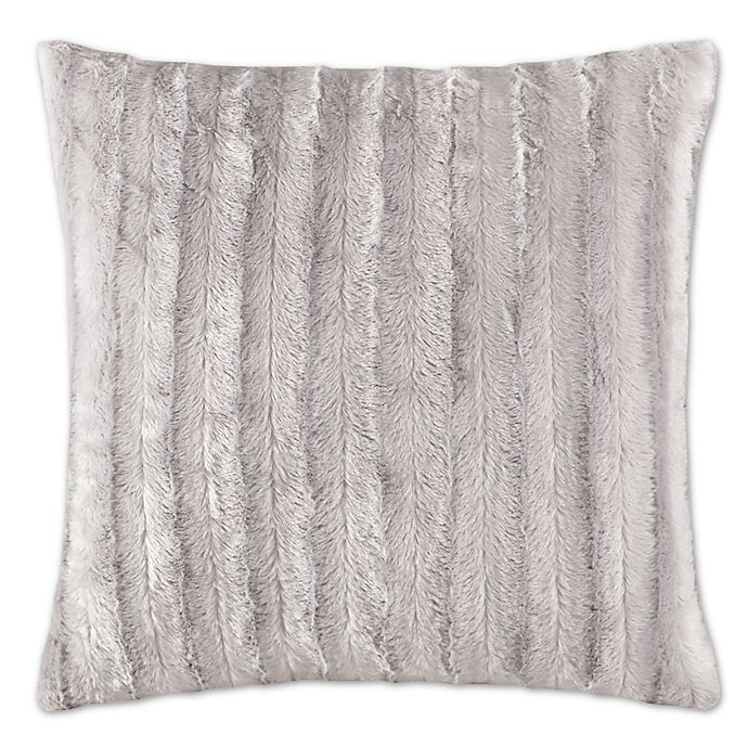 Alternate image 1 for Madison Park Duke 20-Inch Square Throw Pillow in Grey