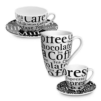 "Konitz ""Café"" Writing Mug Collection"
