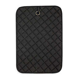 Cotton Quilted BBQ Oven Mat in Black