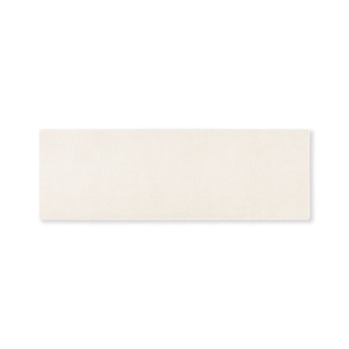 Alternate image 1 for Madison Park Signature 24-Inch x 72-Inch Bath Rug in Ivory