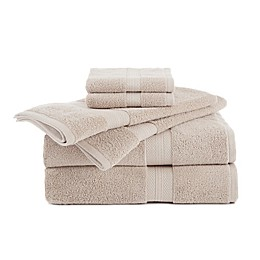 Abundance 6-Piece Towel and Washcloth Set