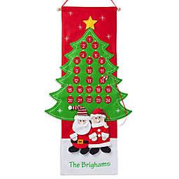 Santa and Mrs. Claus 36-Inch Advent Calendar