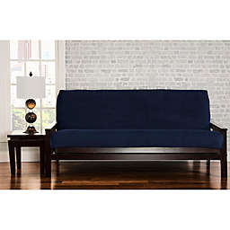 SIScovers® Padma Loveseat Futon Slipcover in Blue Bell