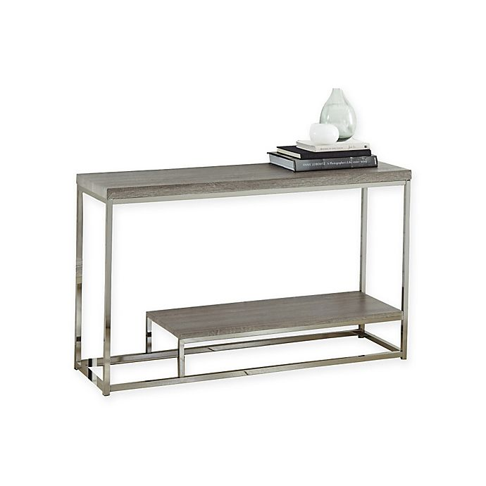 Alternate image 1 for Steve Silver Co. Lucia Sofa Table in Grey
