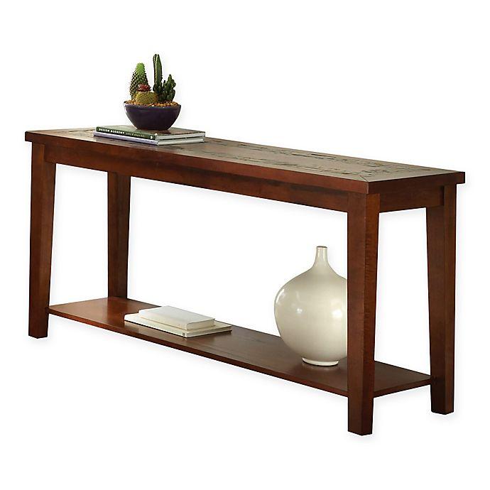 Alternate image 1 for Steve Silver Co. Davenport Sofa Table in Brown