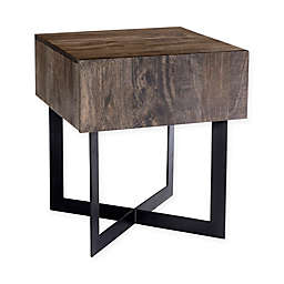 Moe's Home Collection Tiburon Side Table in Natural Finish