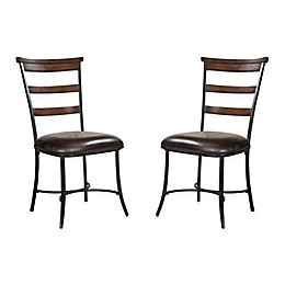 Hillsdale Cameron Ladderback Side Chairs (Set of 2)