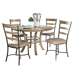 Hillsdale Charleston Dining Collection with Ladder Back Chairs