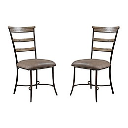 Hillsdale Charleston Ladder Back Chairs (Set of 2)