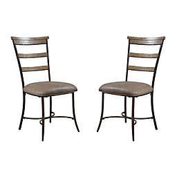 Hillsdale Charleston Ladder Back Chairs (Set of 2)