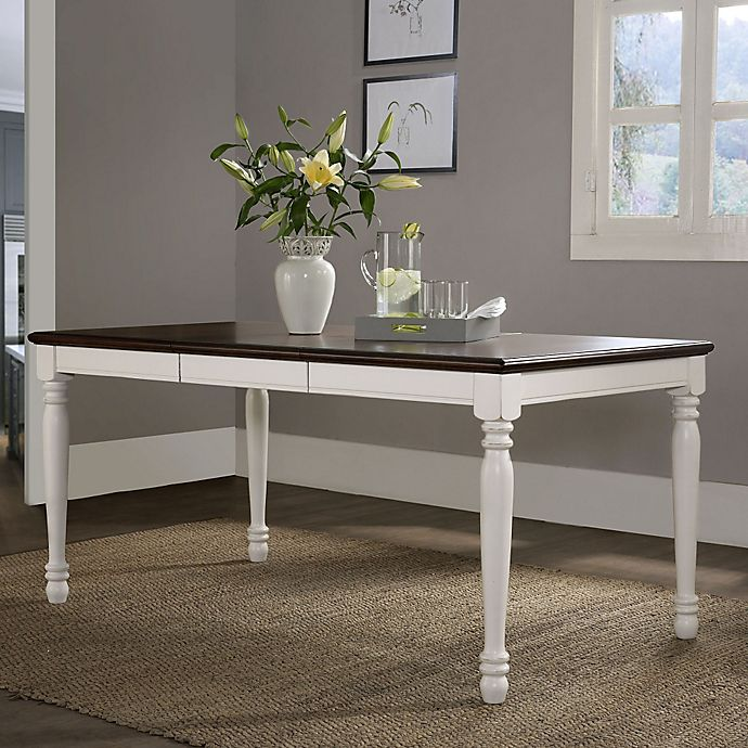 Crosley Furniture Shelby Dining Table In White Bed Bath Beyond