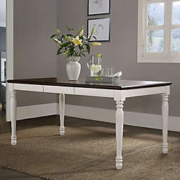 Crosley Furniture Shelby Dining Table in White